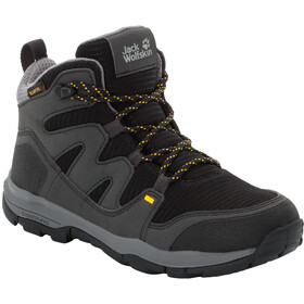 Jack Wolfskin MTN Attack 3 Texapore Mid Shoes Kinder burly yellow xt